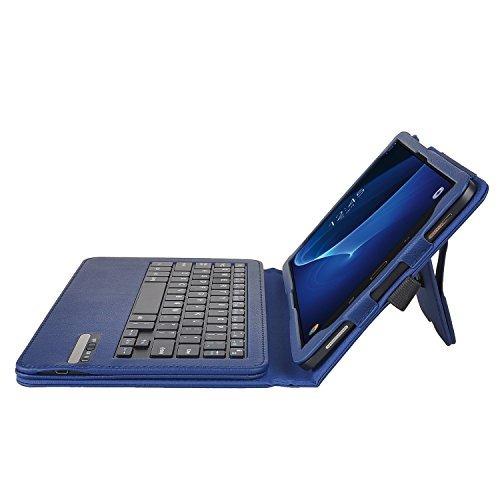 ivso samsung galaxy tab a 10.1 caja del teclado - ultra-delg