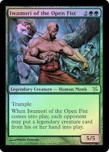 iwamori of the open fist x 1 mtg foil