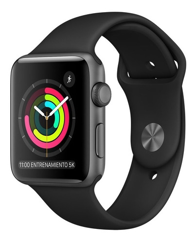 iwatch serie 5 44mm gold/negro