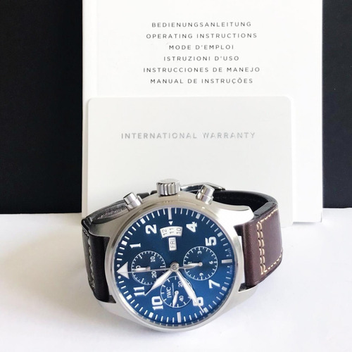 iwc pilot chronograph edition le petit prince completo