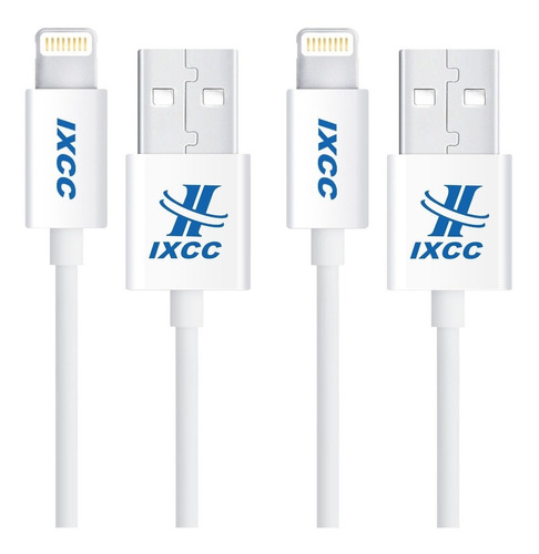 ixcc element ii lightning cable de 6 pies, cargador de iphon