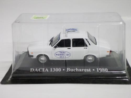 ixo altaya 1/43 taxi del mundo renault 12(dacia) 1980