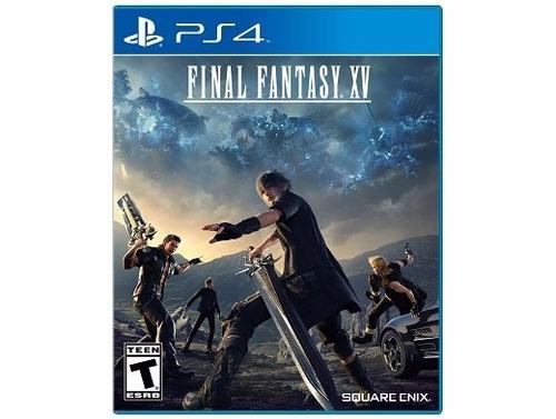izalo: juego físico final fantasy xv ps4 + local!!