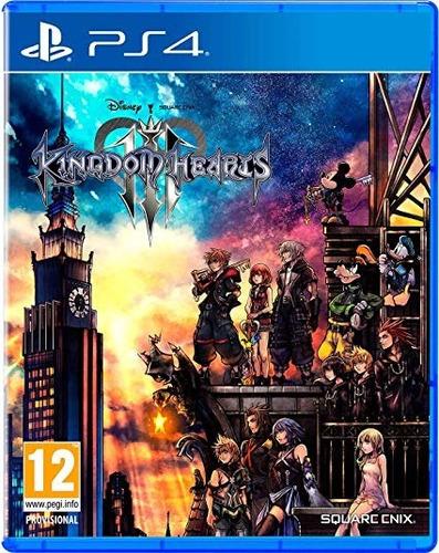 izalo: juego kingdom hearts 3 iii ps4 fisico original