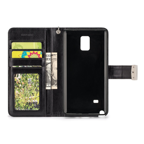 8058102ea81 Izengate Samsung Galaxy Note 4 Wallet Funda - Executive Prem ...