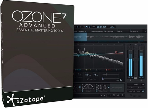 izotope ozone 7 advanced plugins protools rtas vst cubase