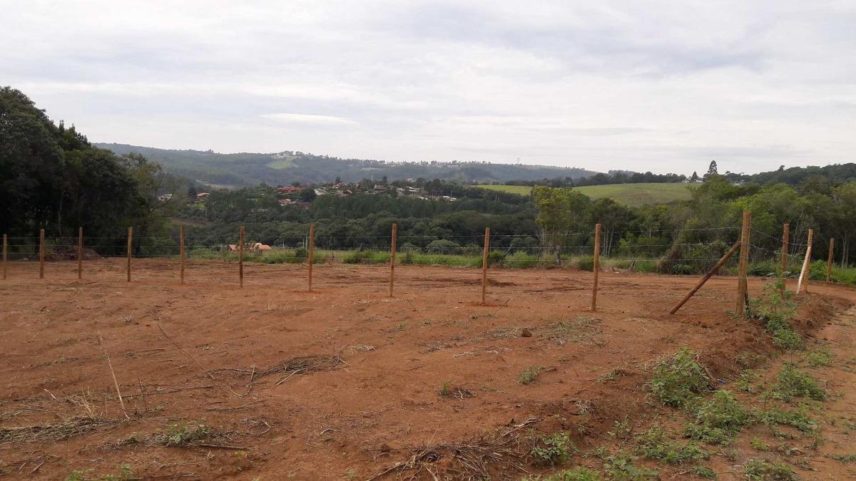 j area para construir chacaras 1010 m2 a 350 mtrs do asfalto