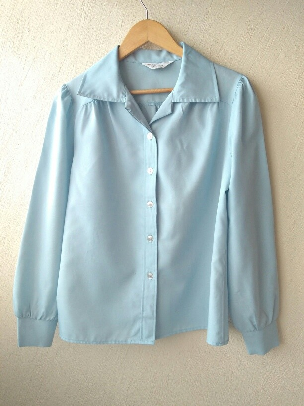 af6ffa115 J. C. Penney Blusa Hipster Azul Talla M - Limpia Closet -   159.00 ...