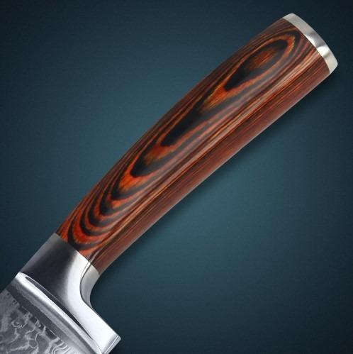 j cuchillo de cocina 8 japonés acero vg10 damasco (a pedido)