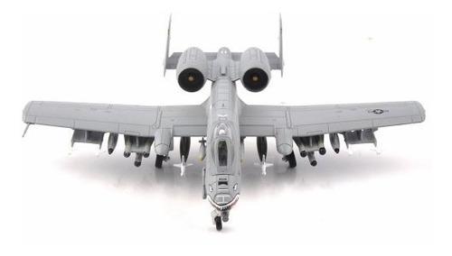 j escala modelo avión bombardero a10 metal (a pedido)