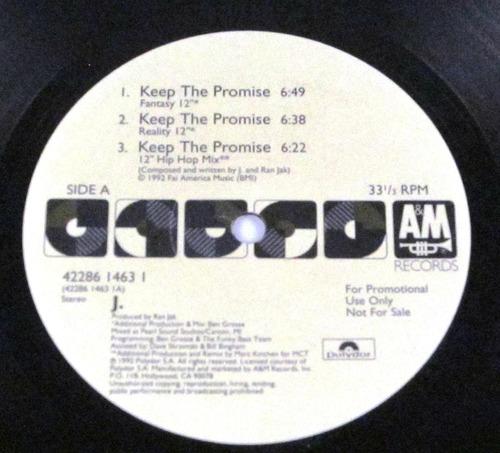 j. - keep the promise single promo importado usa lp