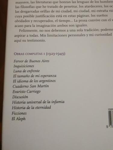 j. l. borges - obras completas +