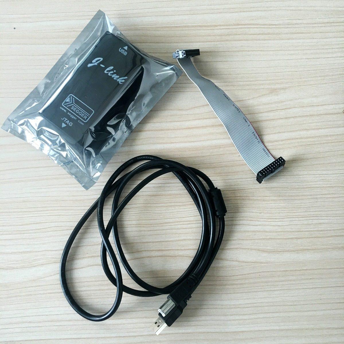 J-Link JLink V8 USB ARM JTAG Emulador Debugger Programador  chips ARM