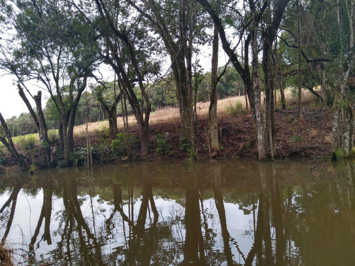 j lotes planos de 1000m2 lago para pesca á venda