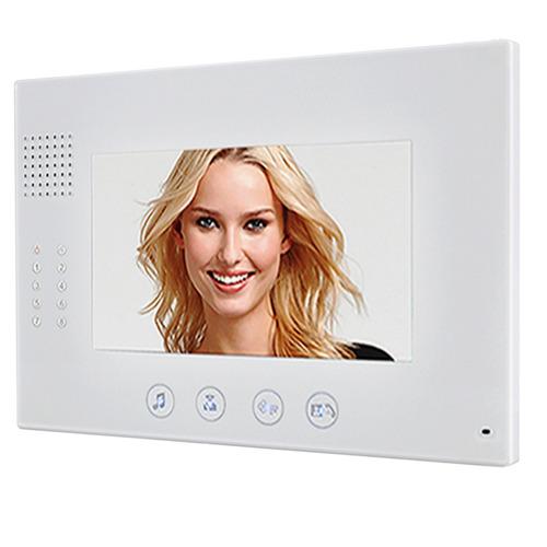 j r kit videoportero edificio 2 monitores 7 pulgadas