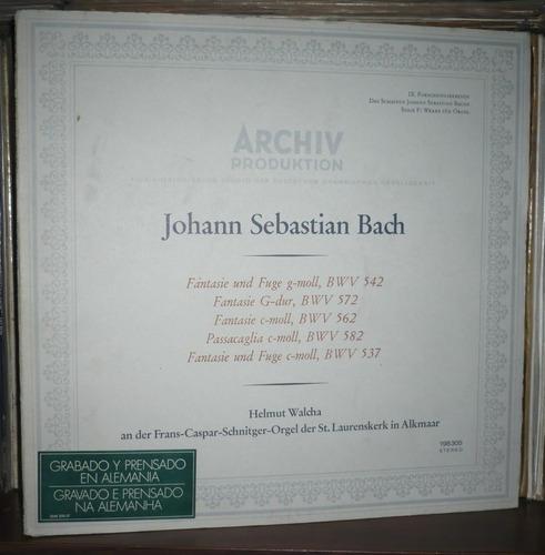 j. s. bach orcelwerke bwv 542 547 562582 archiv produktion