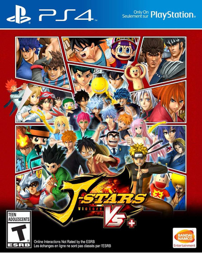 j-stars victory vs+ playstation 4 ps4 fisico sellado