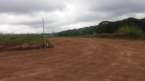 j terreno de 1000 m2 com fácil acesso pronto para construir