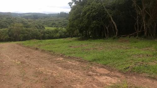 j terreno plano para chácara 1000m2 demarcados