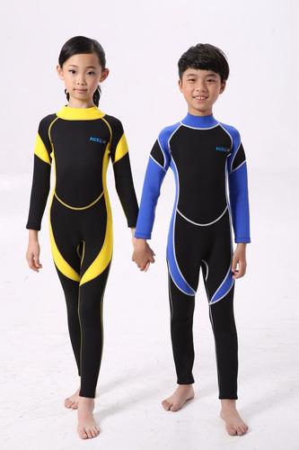 j traje de buceo surf natación submarina niños - (a pedido)