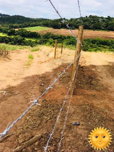 j1 terrenos em ibiuna 500m², lotes demarcados 90% plano