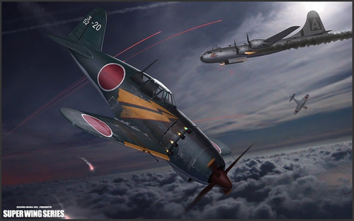 j2m3 imperial japanese navy interceptor raiden