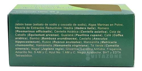 jabón algas marinas con malla de henequén 125 g vidanat