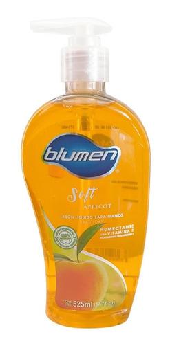 jabón antibacterial para manos blumen aroma durazno 525 ml