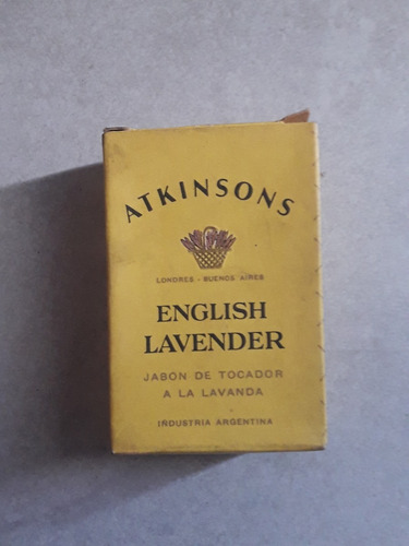 jabon antiguo de tocador atkinsons