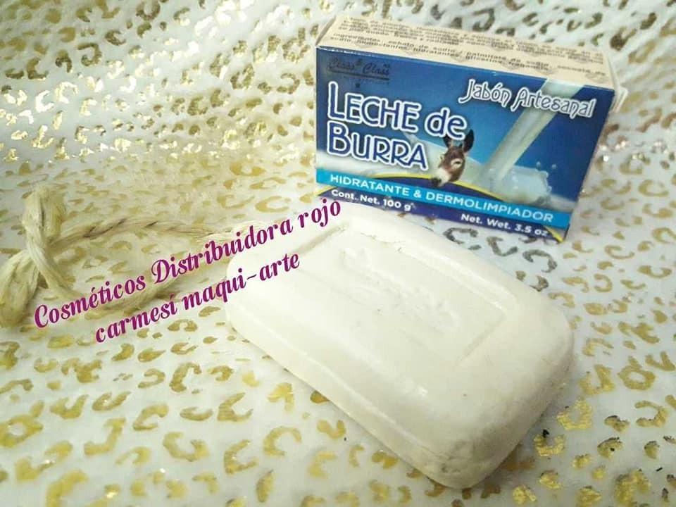 Jabon Artesanal Leche Burra Dermolimpiador Hidratante 100gms