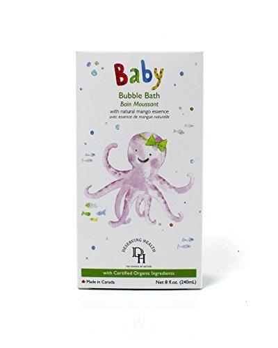 jabón burbujas deserving health para baño  240 ml.