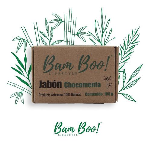 jabón chocomenta bam boo! lifestyle® 100 gr