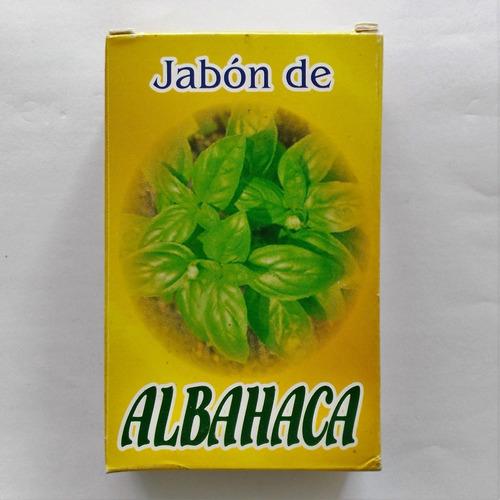 jabón de albahaca - quita sal llama clientes fortuna