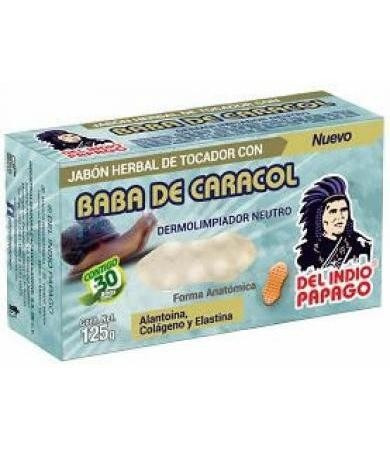 jabón de baba de caracol