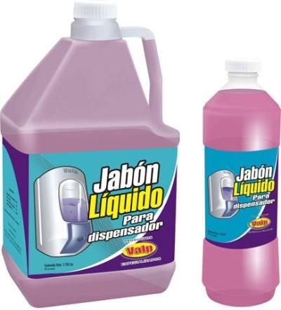 jabón de manos liquido 4lts para dispensador valp