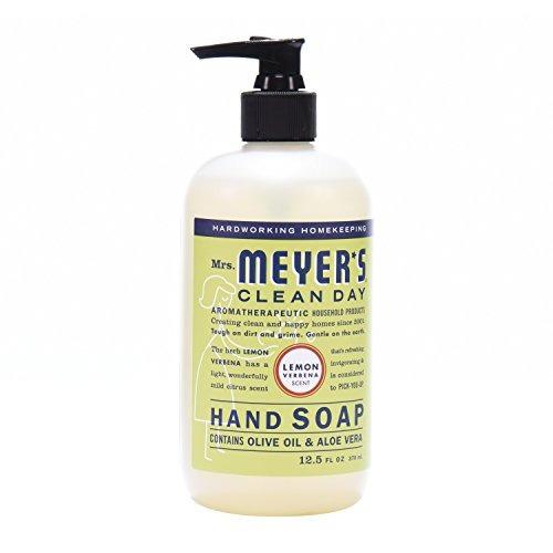 jabón de manos para el día limpio de la sra. meyer, verbena