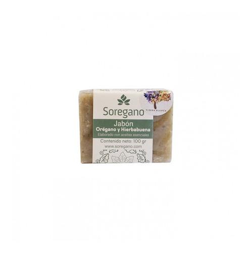 jabón de oregano y hierbabuena 100gr