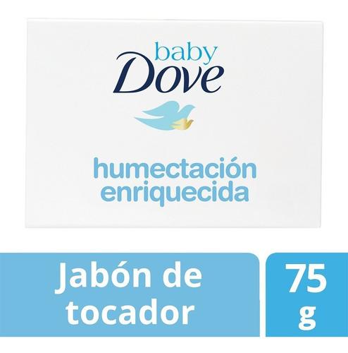 jabón de tocador baby dove humectación enriquecida 75 gr