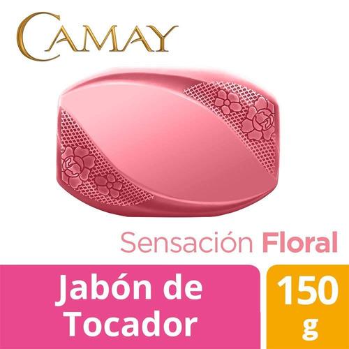 jabón de tocador camay sensación floral 150 gr