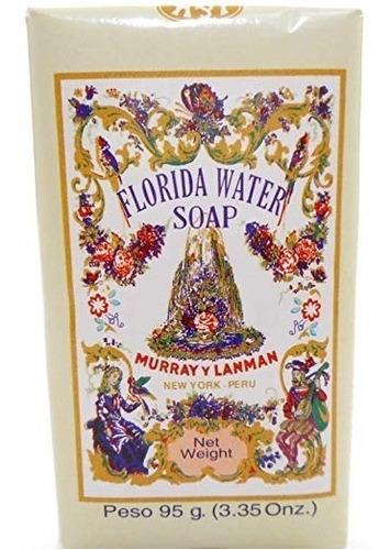 jabon de tocador de agua florida murray & lanman x 95 gramos