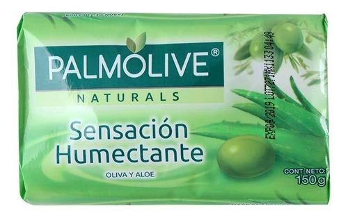 jabón de tocador palmolive naturals oliva y aloe 150 grs.
