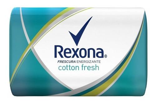 jabon de tocador refrescante rexona 125 g cotton fresh