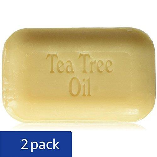 jabón de trabajo tea tree oil soap bar, 110 g, paquete de 2
