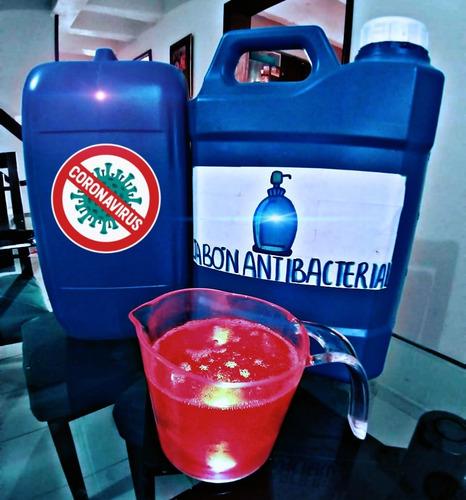 jabón desinfectante líquido