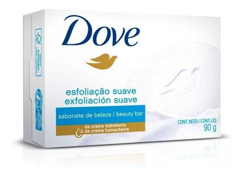 jabón dove exfoliante suave por 90 gramos