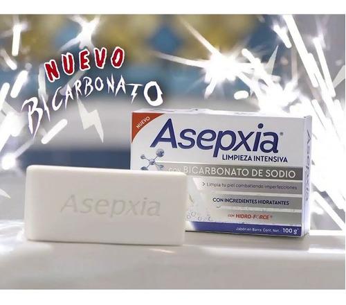 jabón en barra bicarbonato imperfecciones 100gr asepxia