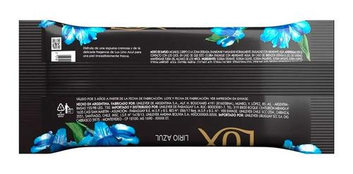 jabon en barra lux lirio azul piel fresca 3 x 125 g