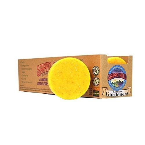 jabon exfoliante de limon y polenta x 100 gramos sappo hill