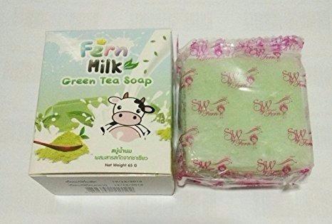 jabon ferm omo te verde leche aclarador exfoliante hidratant