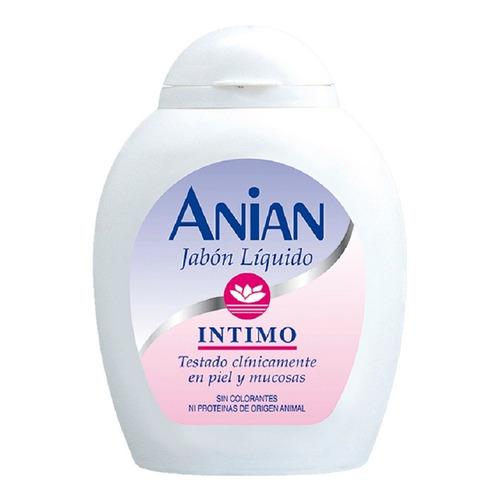 jabón intimo liquido anian 200 ml